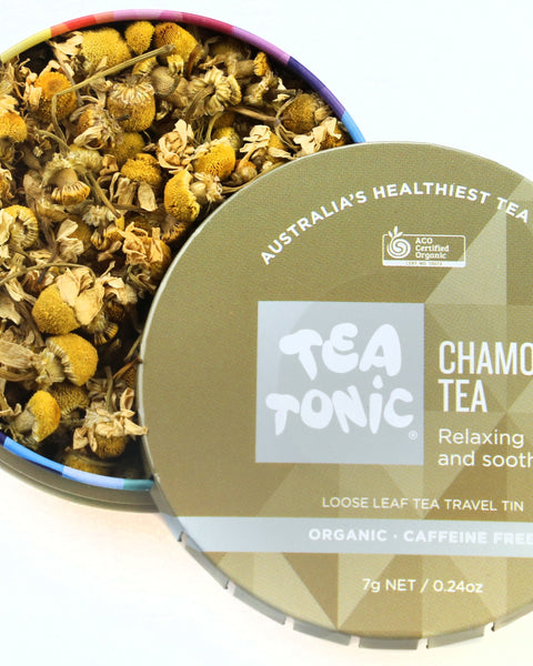 Chamomile Tea Loose Leaf Travel Tin