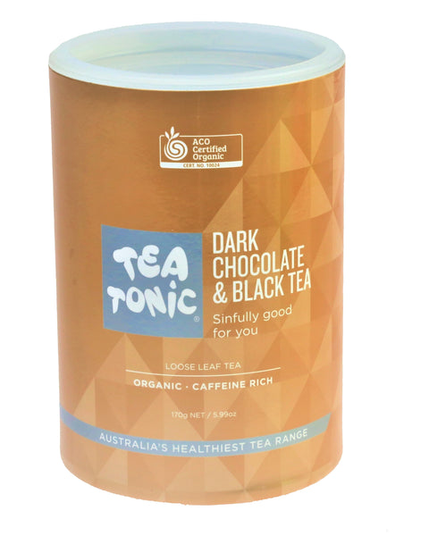 Dark Chocolate & Black Tea Loose Leaf Refill Tube