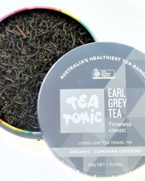 Earl Grey Tea Loose Leaf Travel Tin