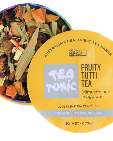 Fruity Tutti Tea Loose Leaf Travel Tin