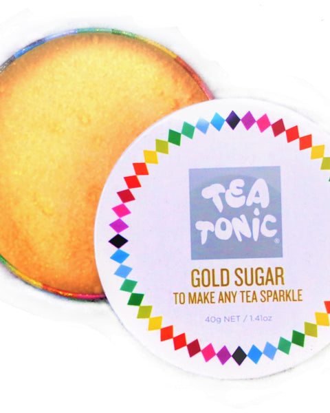 Gold Sugar Travel Tin