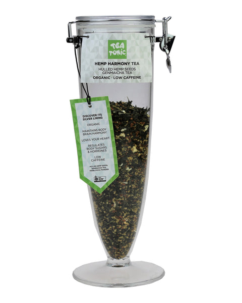 Hemp Harmony Tea Loose Leaf Cone Jar