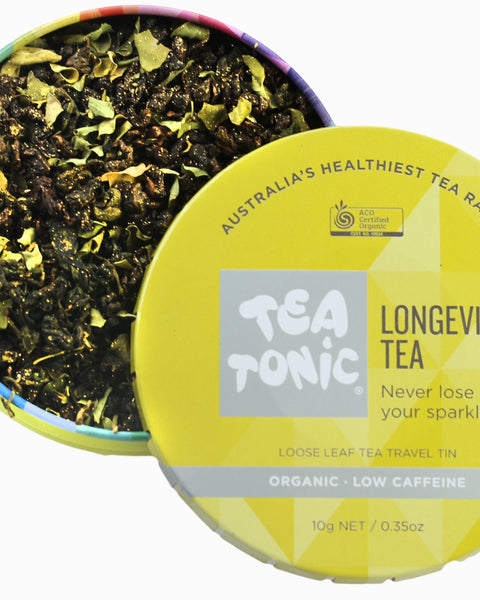 Longevity Tea Loose Leaf Travel Tin