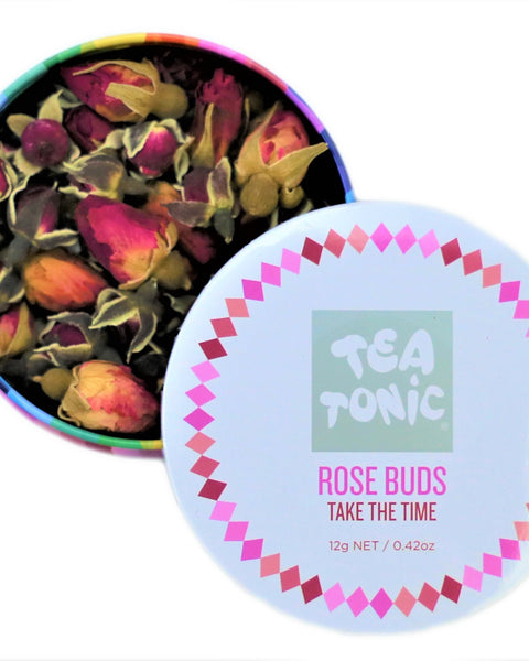 Rose Bud Tea Loose Leaf Travel Tin