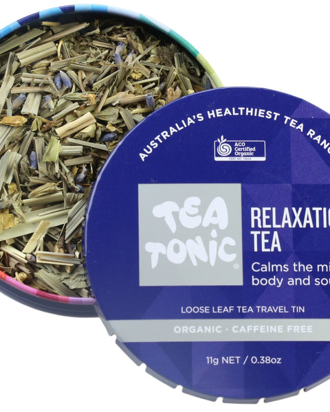 Relaxation Tea Loose Leaf Travel Tin