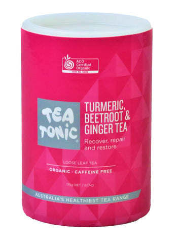 Turmeric, Beetroot & Ginger Tea Loose Leaf Refill Tube