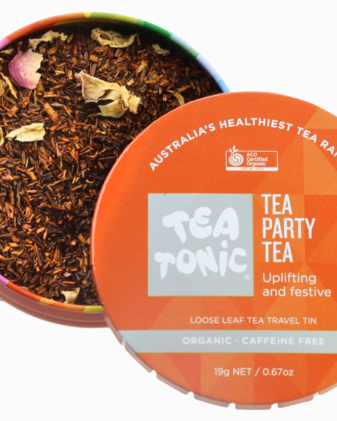 Tea Party Tea Loose Leaf Travel Tin