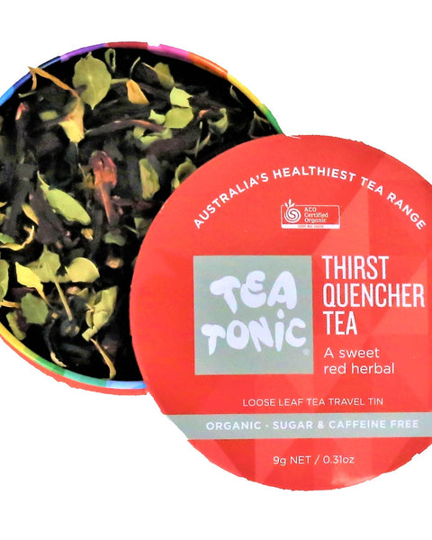 Thirst Quencher Tea Loose Leaf Travel Tin