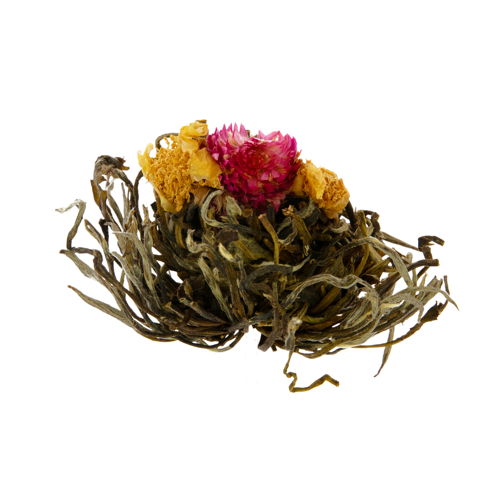 "Flowering Tea Ball ""True Love"""