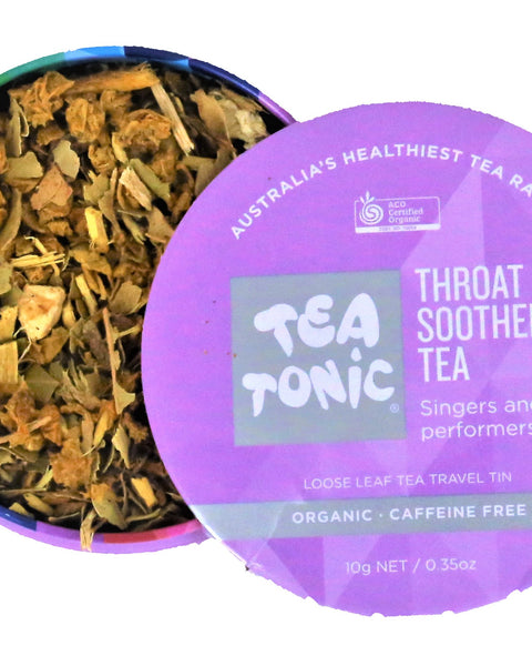 Throat Soother Tea Loose Leaf Travel Tin