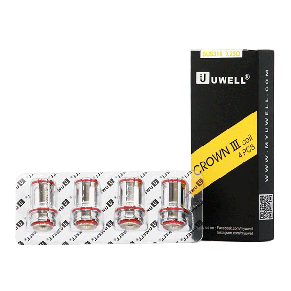 Uwell Crown III Coils (Pack of 4)