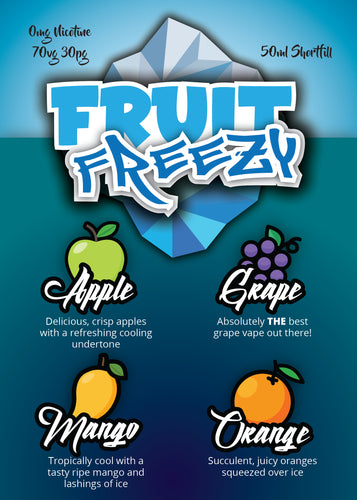 Fruit Freeze 50ml & 100ml 0mg