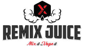 Remix Juice Logo - The Vape Escape