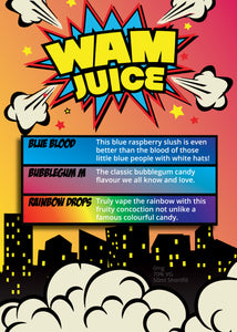 Wam Juice 50ml & 100ml 0mg