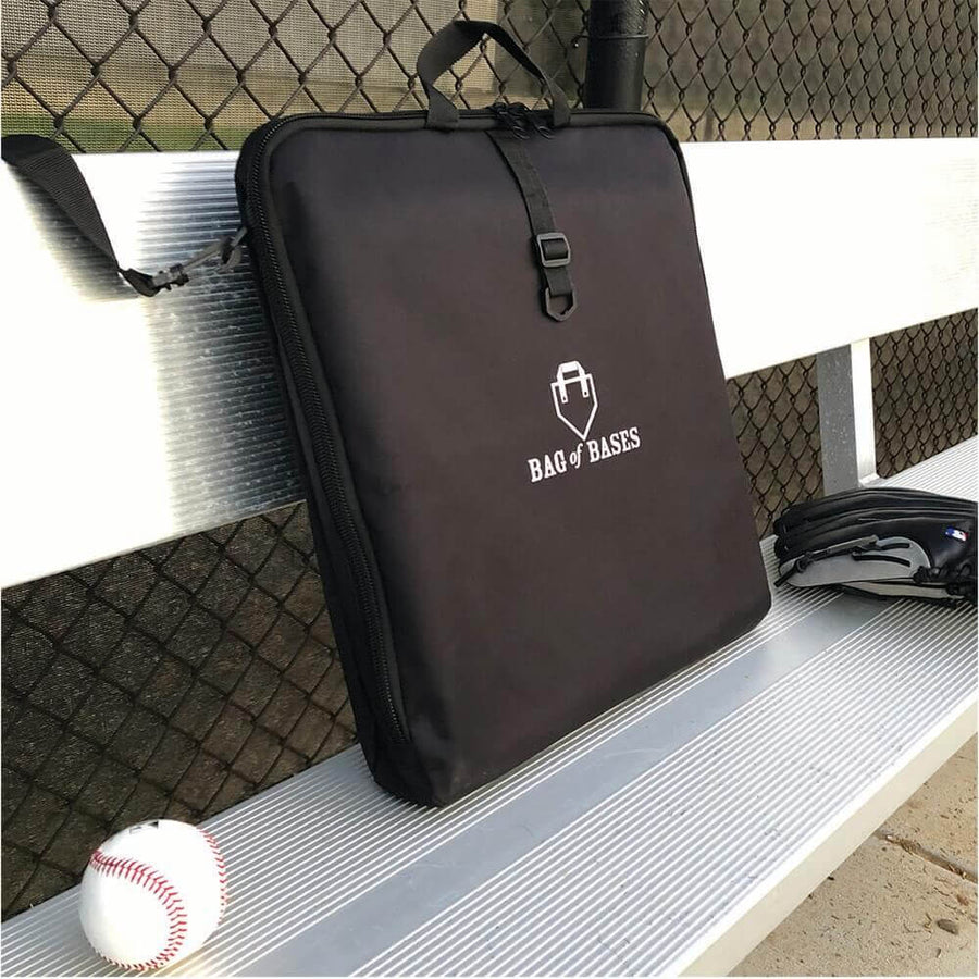 Bag of Baseball Bases - Full Set