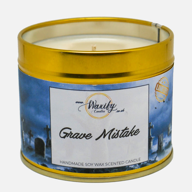 Grave Mistake Limited Edition Halloween Candle