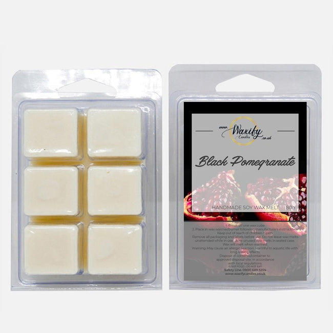 Black Pomegranate Waxify Candles