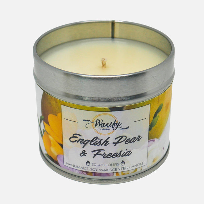 English Pear & Freesia Waxify Candles