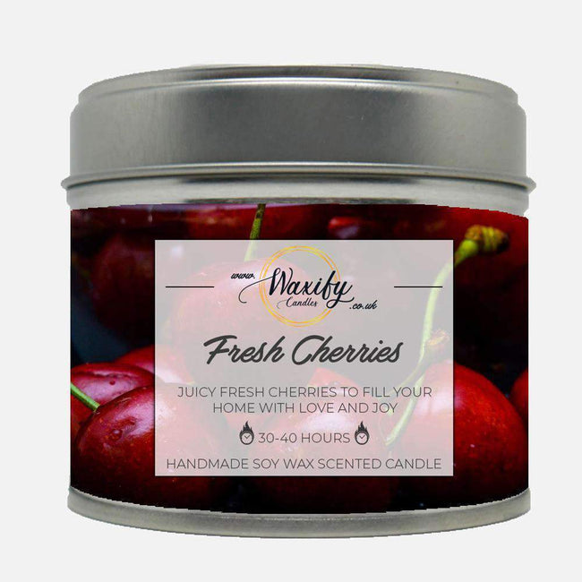 Fresh Cherries Waxify Candles