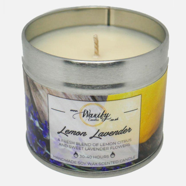 Lemon Lavender Waxify Candles
