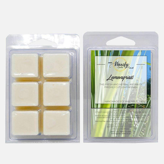 Lemongrass Waxify Candles
