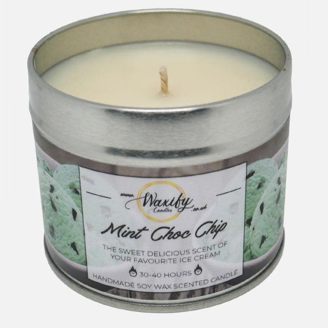 Mint Choc Chip Waxify Candles