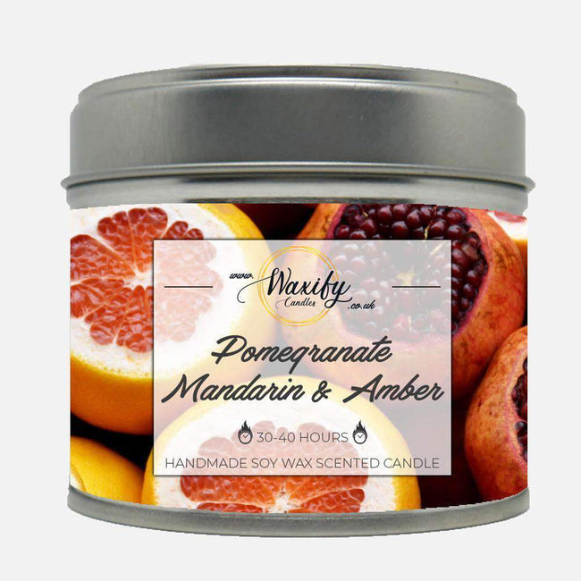 Pomegranate Mandarin Amber Waxify Candles