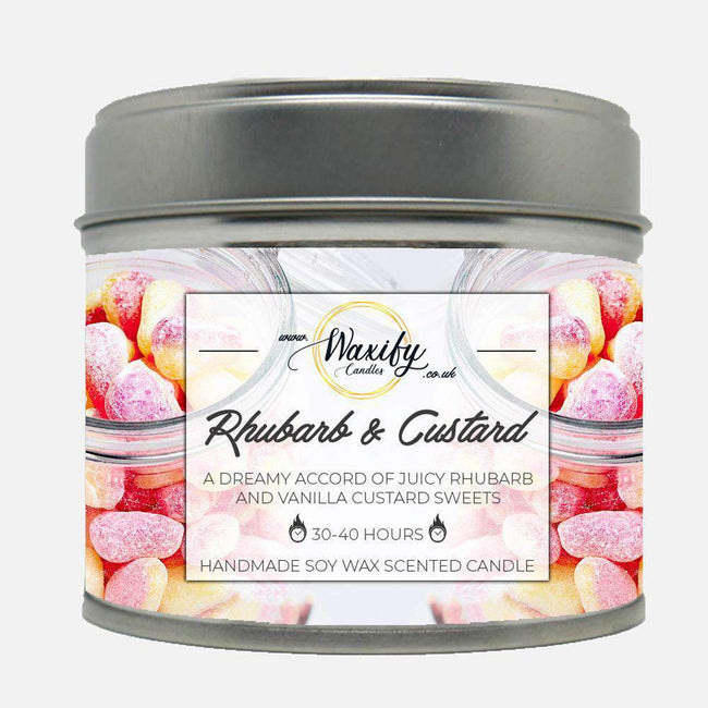 Rhubarb & Custard Waxify Candles
