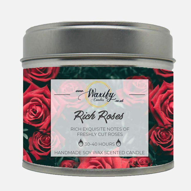 Rich Roses Waxify Candles