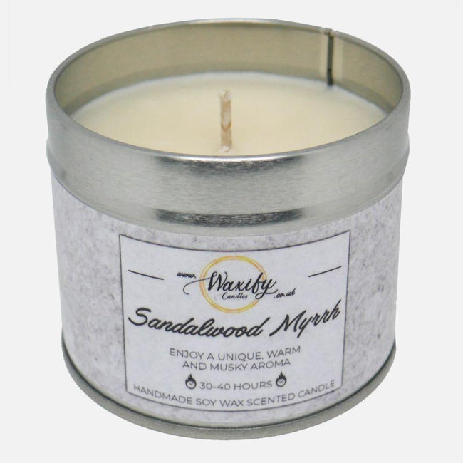 Sandalwood Myrrh Waxify Candles
