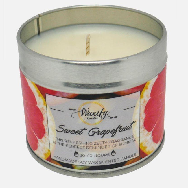 Sweet Grapefruit Waxify Candles