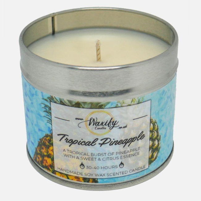 Tropical Pineapple Waxify Candles