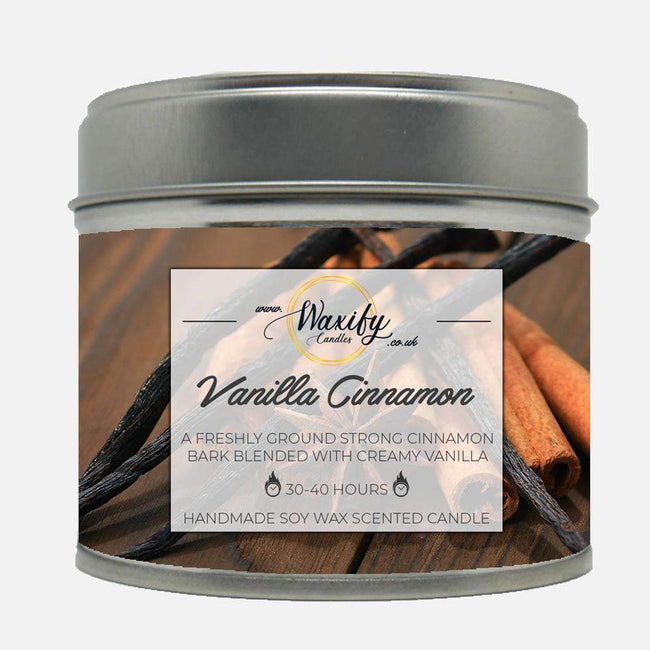Vanilla Cinnamon Waxify Candles