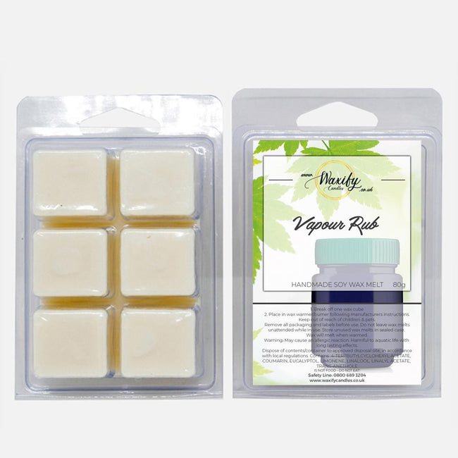 Vapour Rub Waxify Candles