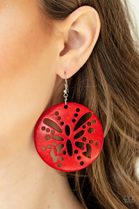 Bali Butterfly - Red