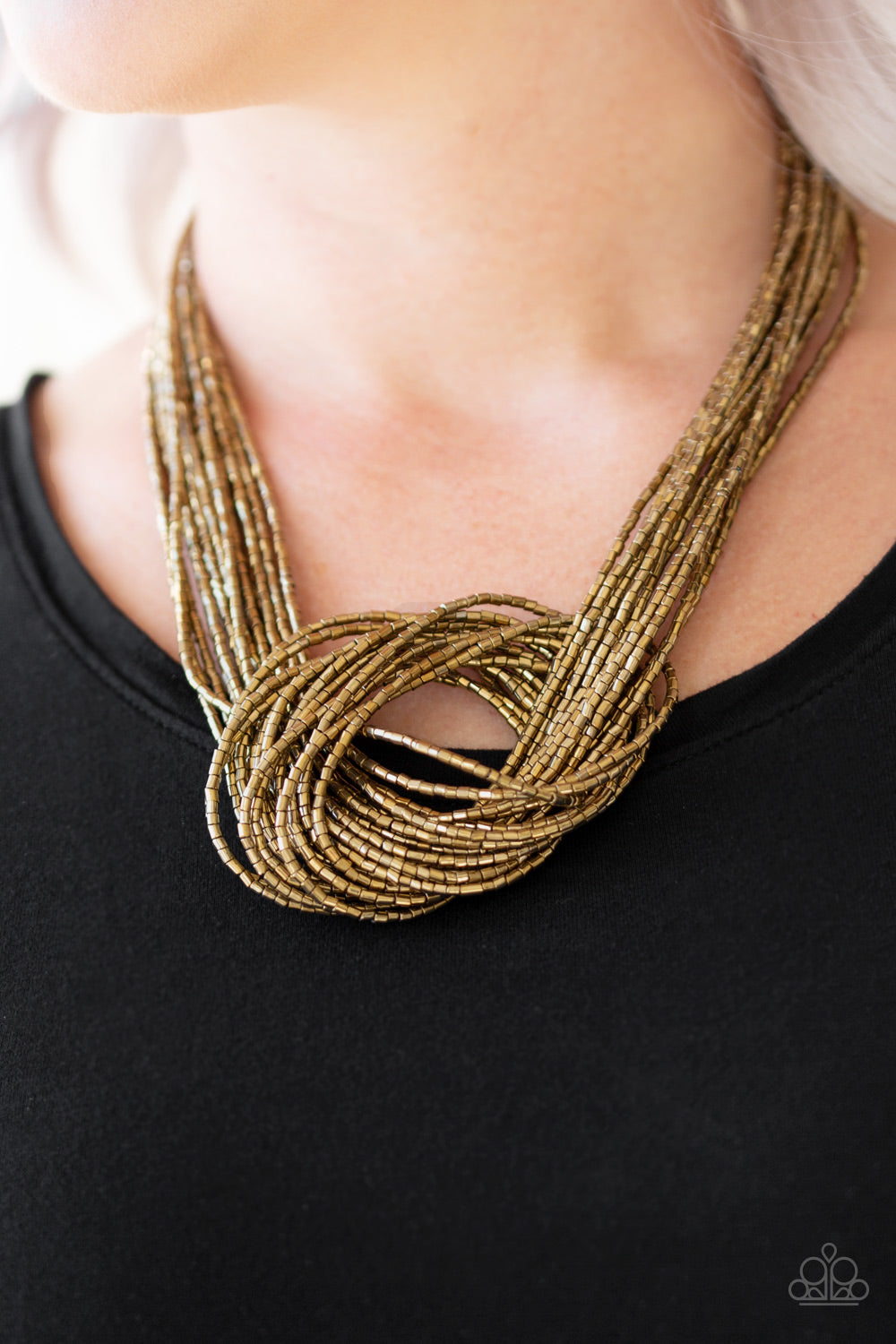 Knotted Knockout - Brass