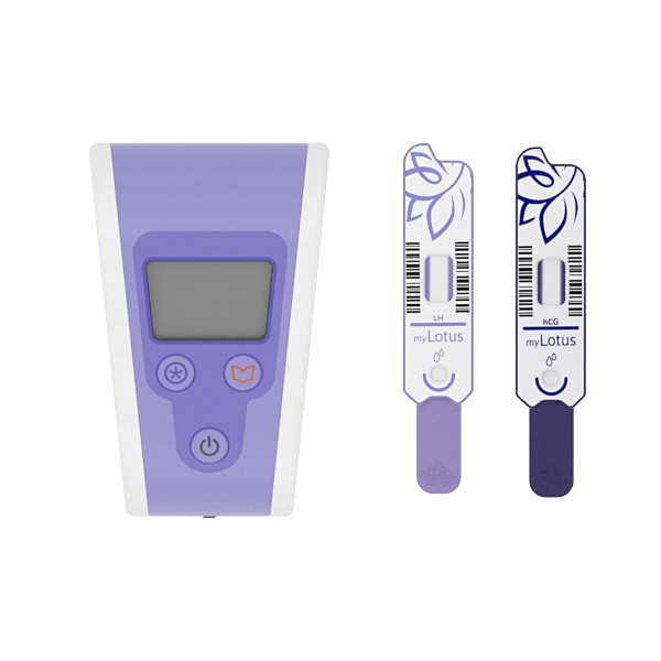 myLotus Personalised Fertility Monitor with 1 month test sticks