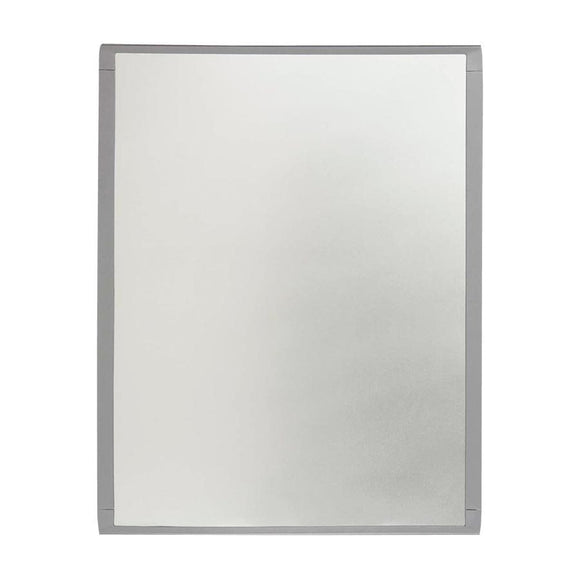 Dry Erase Magnetic Whiteboard Silver frame, 8.5 x 11 in.