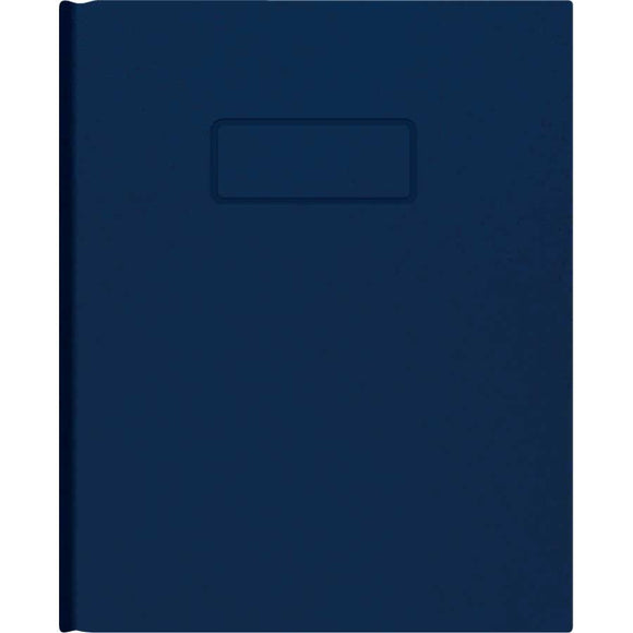 A9 Notebook Ruled, blue
