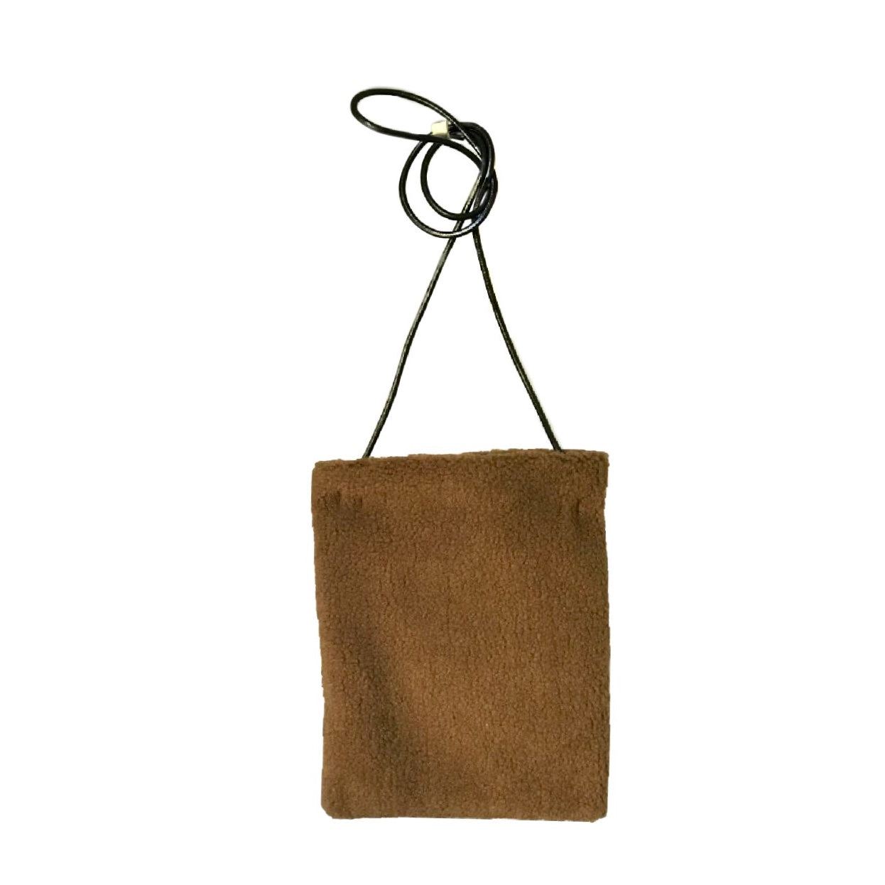Bolso PLUSH TOY MARRON