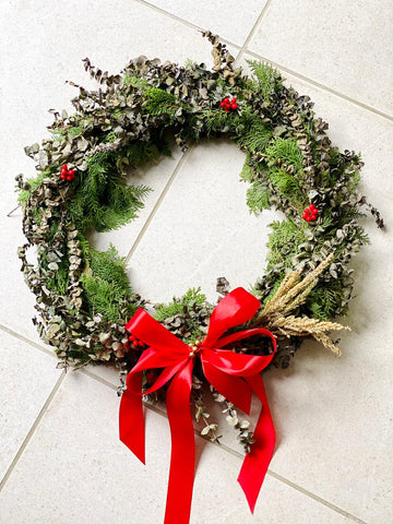 [PRE-ORDER] Joy Wreath - Eucalyptus and Cypress