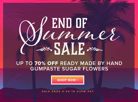 Sale of the Week - End of Summer Sale