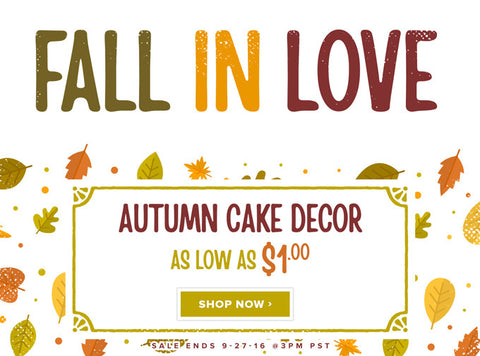 Sale of the Week - Fall in Love