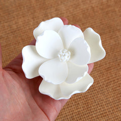 Magnolia Sugar Flower Cake Topper great for cake decorating your own cakes and wedding cakes.