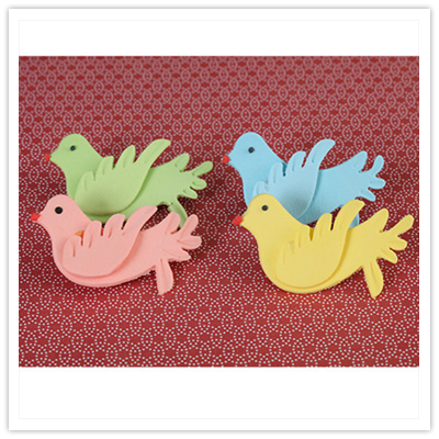 Handmade Gumpaste Birds and Fish Cupcake Toppers