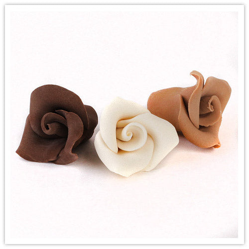 Handmade Gumpaste Chocolate Rose