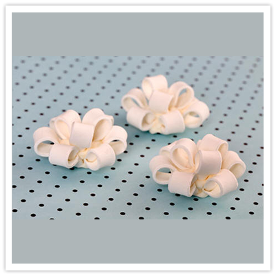 Handmade Gumpaste Wedding Collection Cupcake Toppers