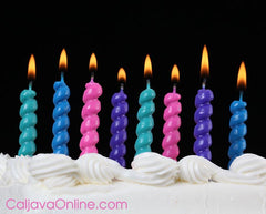 Birthday Candles for Birthday Cakes