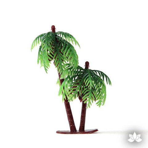 Vintage Small Double Palm Tree