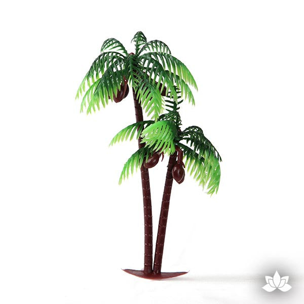 Vintage Large Double Palm Tree